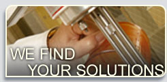 We find your solutions.